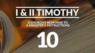 I & II Timothy - #10