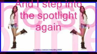 Spotlight - Miley Cyrus [With Lyrics on Screen]