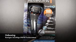 Unboxing Remington SmartEdge Pro XF8700