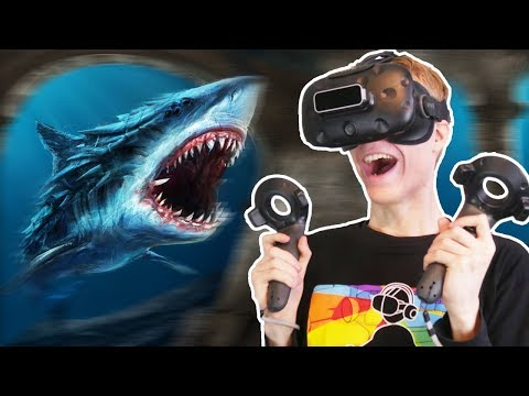 SHARK ENCOUNTER IN VIRTUAL REALITY!  | Operation Apex VR (HTC Vive Gameplay)