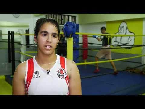 العرب اليوم - شاهد: شيماء غدي قصة بطلة مغربية صاعدة في الملاكمة