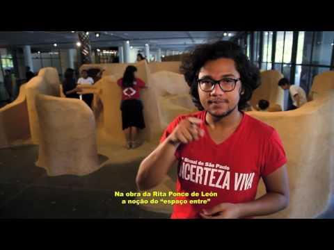 #32bienal (Ações educativas) Videoguia em Libras