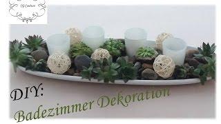 DIY Badezimmer Dekoration Selber Machen Mit Sukkulenten | Frühlingsdekoration