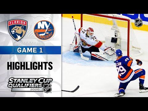 NHL Highlights | Panthers @ Islanders, GM1 – Aug. 1, 2020