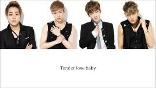 Lyrics EXO-M - TENDER LOVE (就是爱) [Pinyin/Chinese] COLOR CODED