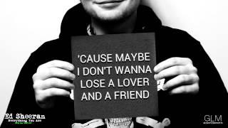 Ed Sheeran - 'Everything You Are' (Lyrics)