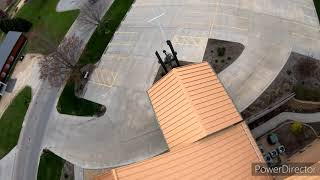 FPV Racing Drone at a new spot. Church! Ripped a few packs with God. GoPro Hero 7 Black 4K 60fps