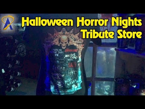 Tour the Halloween Horror Nights 27 tribute store at Universal Studios Florida