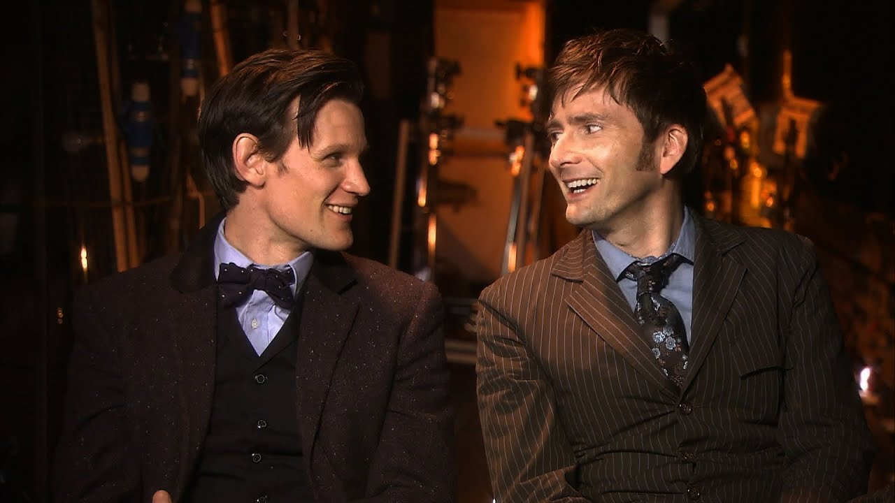 tenth and eleventh doctor meet the war dr