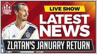 Mourinho Wants Zlatan Return! Man Utd News Now