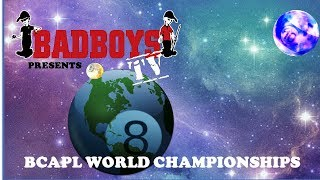 2018 BCAPL World Championships, MIxed 8-Ball Gold Teams Dark Horse vs Mugsys/Stacey