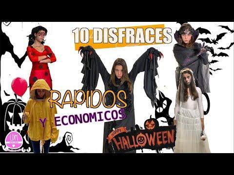 DISFRACES DE HALLOWEEN DE ULTIMO MINUTO!! Rápido y fácil 🎃LA DIVERSION DE MARTINA