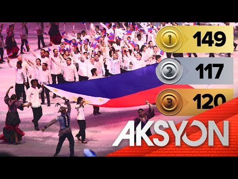 [News5]  Pilipinas, humakot ng record-breaking 387 medals sa 30th SEA Games