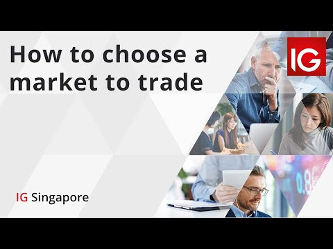 How to Choose a Market to Trade