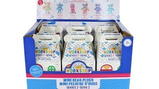 Build-a-Bear Workshop Mini Bear Plush Series 2 Blind Box Full Case Unboxing Toy Review
