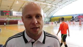 Grzegorz Raus: Wywiad w pierwszym dniu turnieju PROFBUD CUP 2014