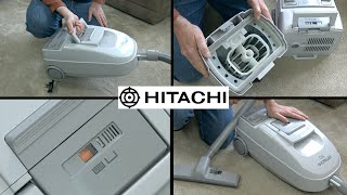Hitachi CV-790 Powerhouse Bagless Vacuum Cleaner Unboxing & First Look