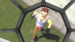CAN HE BE KILLED!? - Gmod Scary Hello Neighbor Mod