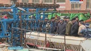 Сельхозтехнику в Марий Эл готовят к зимнему хранению и ремонту - Вести Марий Эл
