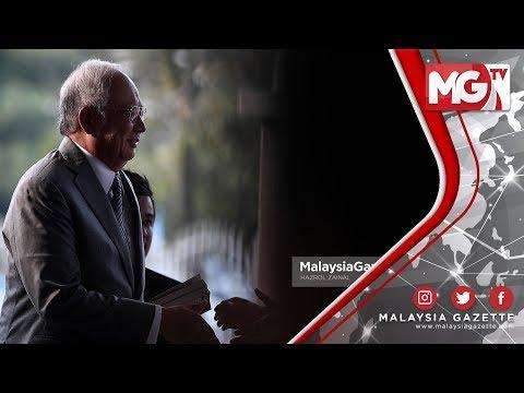 """INI SOAL KESELAMATAN! """"Tidak Wajar"""" Negara Asing Kendali Sistem Keretapi  - Najib Razak"""