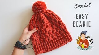 Crochet Beginner Friendly Beanie / Hat
