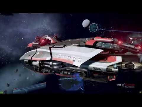X4 Foundations - BETA 8, Cerberus test, medium ship