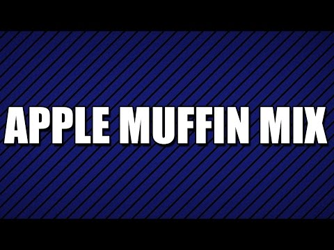 APPLE MUFFIN MIX - MY3 FOODS - EASY TO LEARN