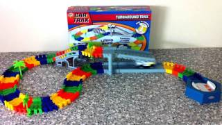 HGL CAR TRAX CHILDRENS TOY PLAYSET-SV11286 TURNAROUND TRAX