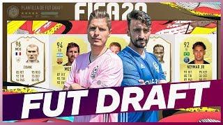 ¡EL PRIMER FUT DRAFT DE FIFA20! | ¡VS CACHO01!
