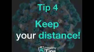 Tip #4 Keep Your Distance