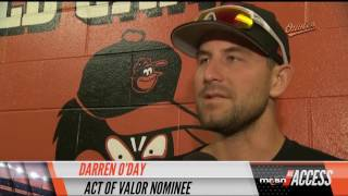 Darren O'Day nominated for Act of Valor Award