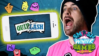 CRAZY CABIN QUIPLASH (Smosh Winter Games)