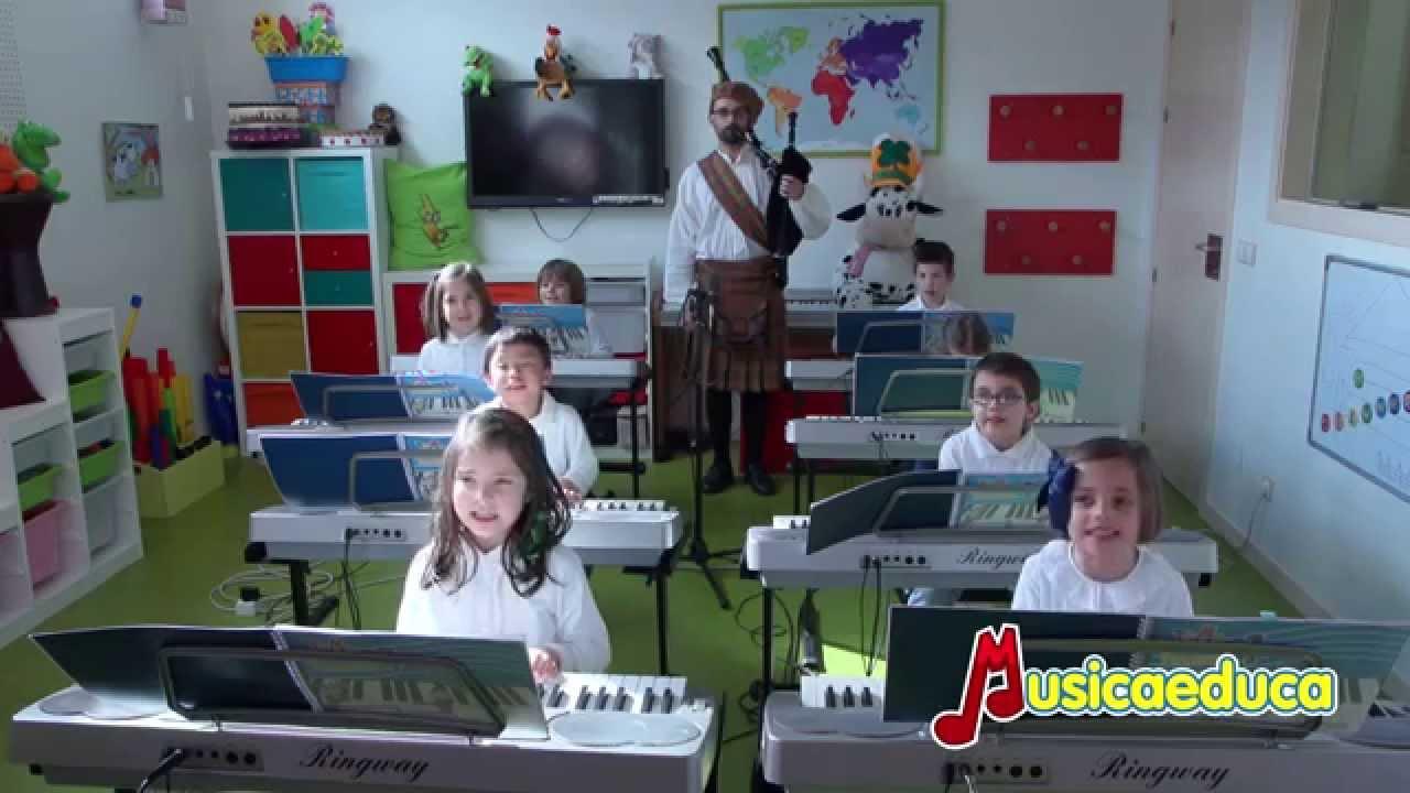 El juego de San Patricio - Grupo de alumnos  de Mi Teclado 1 - CEMBI