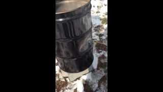 Ugly Drum Smoker Burn Out
