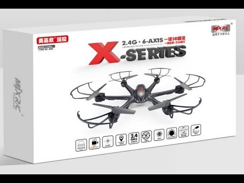 MJX X600 X-SERIES Unpacking and test flying
