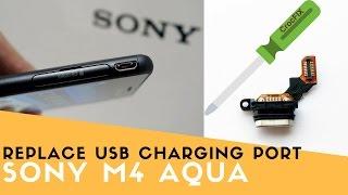 Sony Xperia M4 Aqua Loudspeaker Repair Guide - Самые лучшие видео