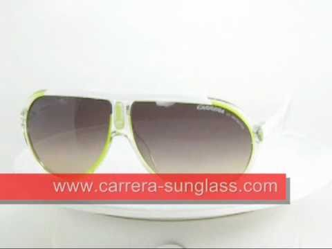 Carrera Sunglasses Endurance Green White
