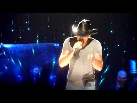 Tim McGraw - Better Than I Used To Be - Allphones Arena Sydney - 27th March 2012 Mp3