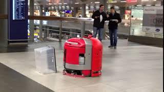 Wettbewerb der Reinigungsroboter   Cleanfix RA660 Navi
