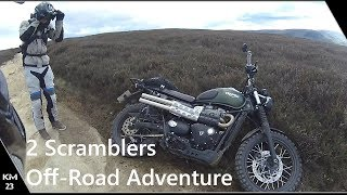 Street Scrambler Hill Climb | 2 Scramblers Off-road Adventures Part 1.