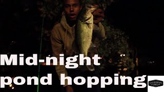 FIRST VLOG - NIGHT FISHING FOR BASS