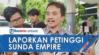 Roy Suryo Laporkan Rangga Sasana, Petinggi Sunda Empire