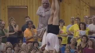 BKS Iyengar -  sirsasana yoga pose (correct headstand)