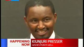 Mwangi Kiunjuri responds after President Uhuru sacked him, thanks him for the opportunity