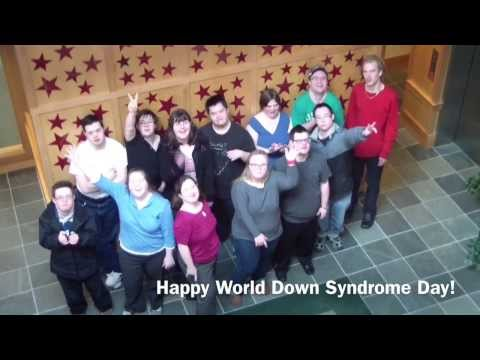 Watch video Happy World Down Syndrome Day 2014