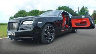 NEW Rolls Royce Wraith Black Badge