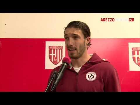 Matelica-Arezzo 2-2, intervista a Mirko Bortoletti