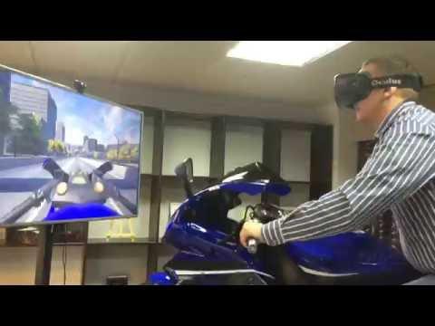 Интерактивный мотосимулятор виртуальной реальности