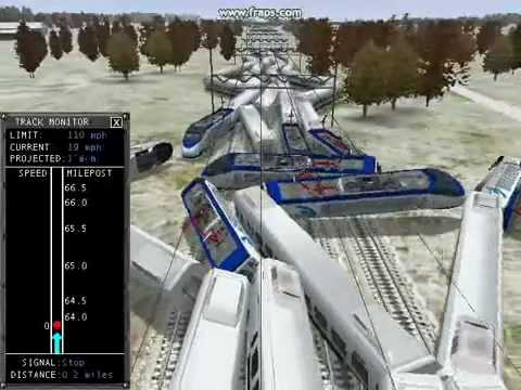 Microsoft Train Simulator Train Wrecks Part 14 Mp3