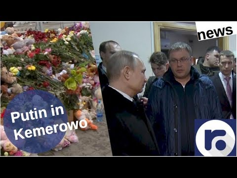 Putin in Kemerowo [Video]